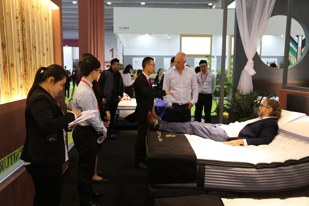 JLH-The 41th China International Furniture Fair Guangzhou - Jinlongheng Mattress-3