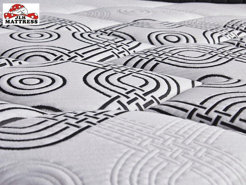 32PA-27 Pocket Spring Roll Up Mattress Breathable Unique Design China Mattress Factory
