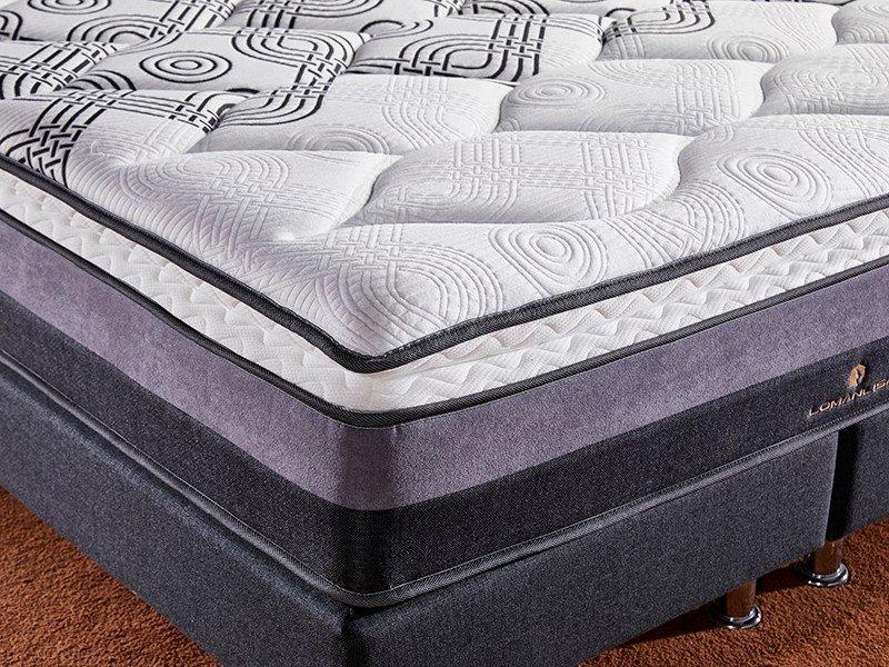 Hot compress memory foam mattress packed JLH Brand
