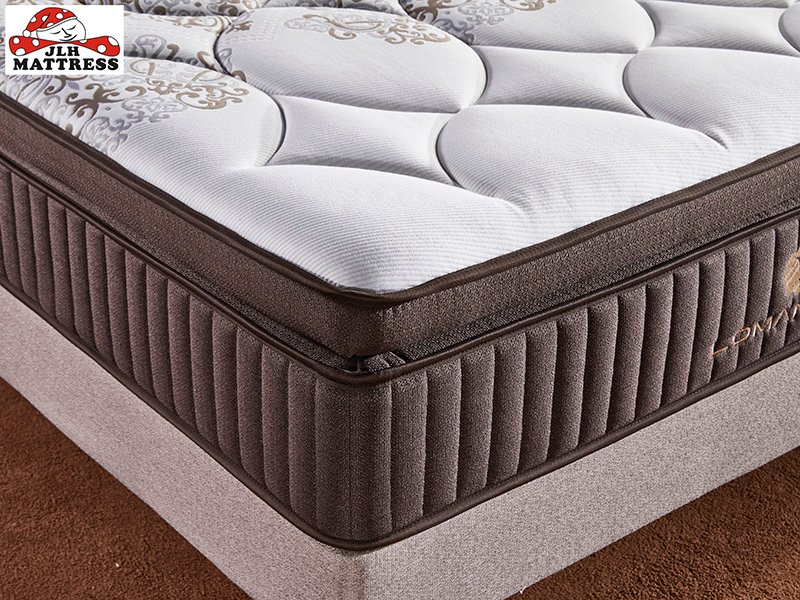 JLH 33PA-13 Hot sale luxury design latex with pocket coil royal mattress Latex Foam Mattress image8