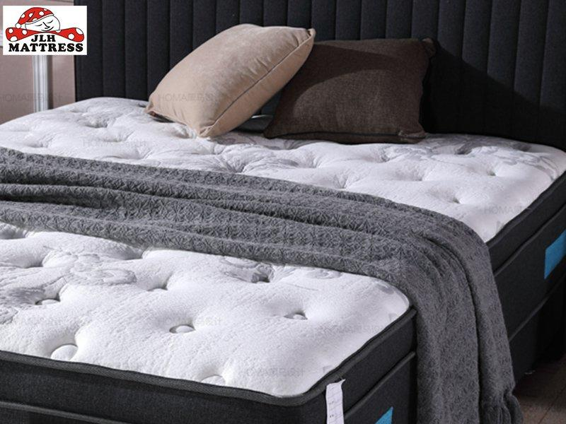 34PA-49 Home Furniture Perfect Sleep Gel Memory Foam And Latex Spring Roll Up Mattress