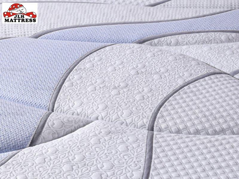 JLH 34PA-52 Wool +Natural Latex Euro top Pocket Spring Mattress Latex Foam Mattress image5