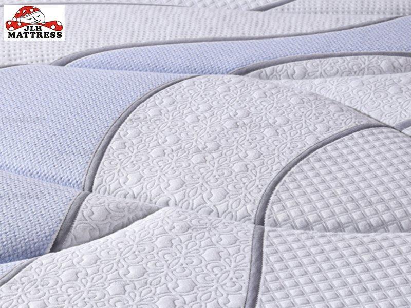 34PA-52 Wool +Natural Latex Euro top Pocket Spring Mattress
