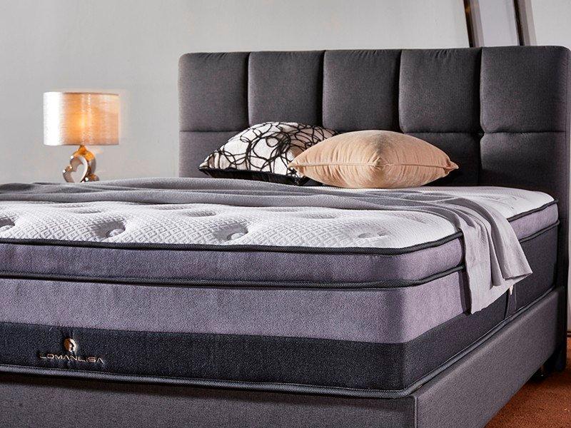 JLH comfort portable mattress High Class Fabric for guesthouse-3