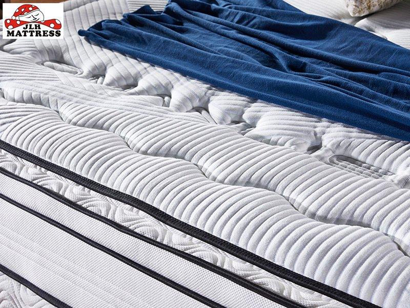 JLH-4BPA-03 Perfect Sleep Wool + Gel memory foam Euro top mattress Vacuum Packed-1