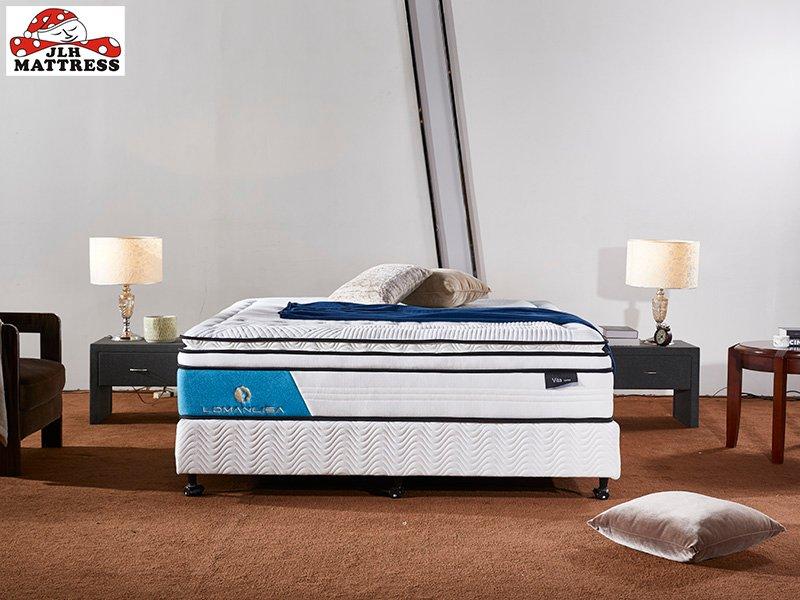 JLH 4BPA-03 Perfect Sleep Wool + Gel memory foam Euro top mattress Vacuum Packed Memory Foam Mattress image7