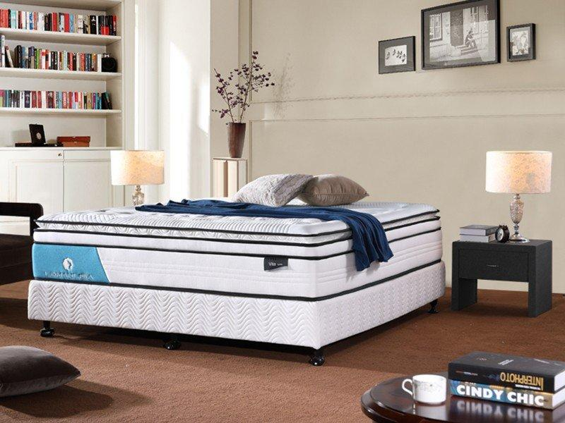 oem cool gel memory foam mattress topper vacuum density JLH Brand