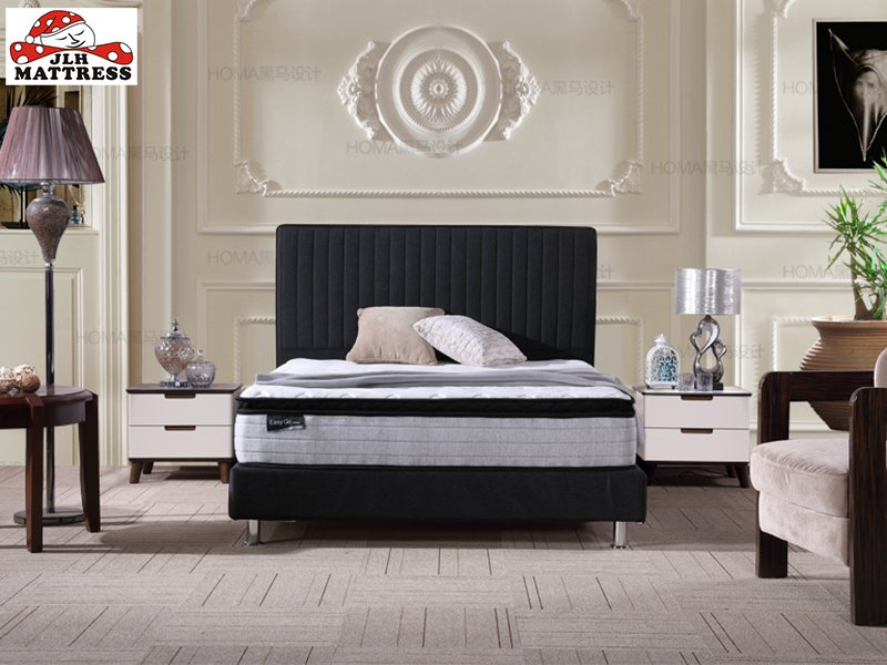 JLH 32PB-20 Best valued pillow top rolled mattress china factory Mattress In A Box image4