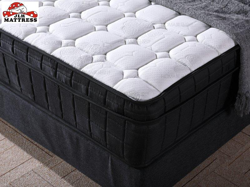 34PA-55 Chinese Factory Euro Top Pocket Innerspring Coil Mattress