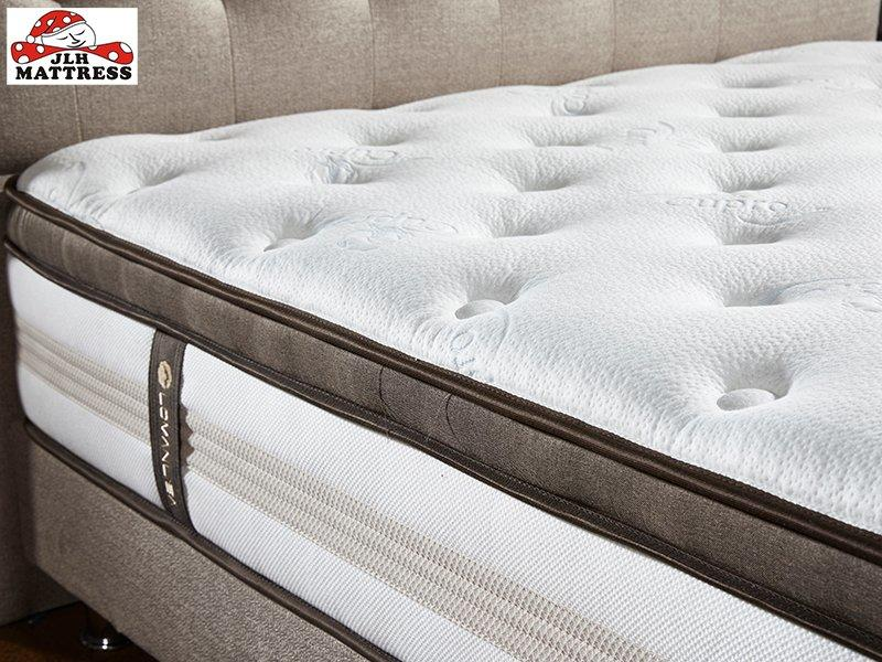34PA-58 High Quality Bed Mattress middle Soft and Comfortable Natural Breathable porket spring Mattress