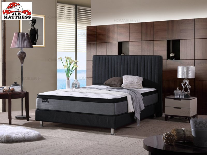 JLH 34PB-24 Natural Latex and Pocket spring mattress in box best selling online Mattress In A Box image3