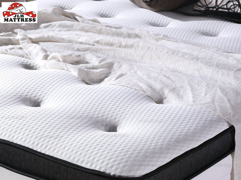 JLH 34PD-01 Luxury Latex Pocket Spring Gel Memory Foam Mattress turfted by hand Hybrid Mattress image5