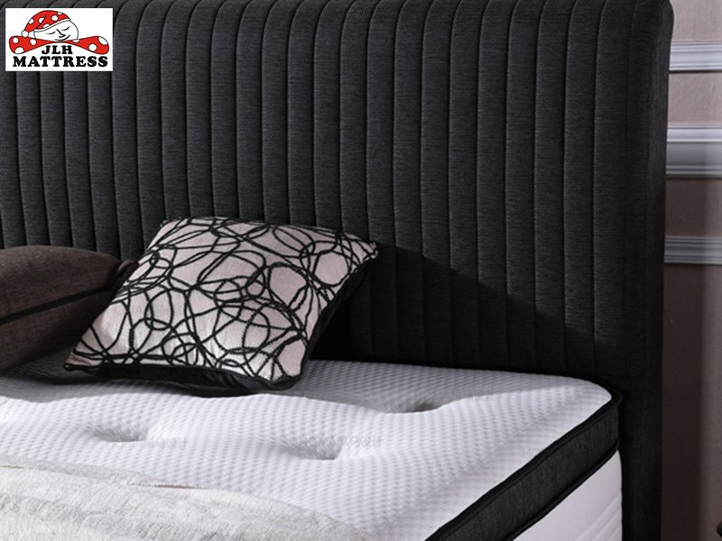 JLH-Find Latex Hybrid Mattress Black Hybrid Mattress From Jinlongheng Mattress