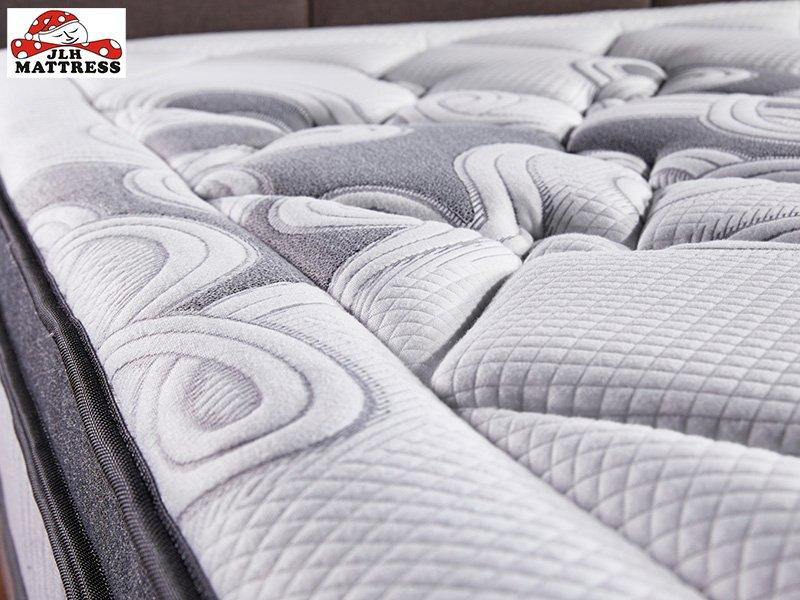 47AA-14 Chinese manufacturer Deluxe double Pocket spring Box top mattress