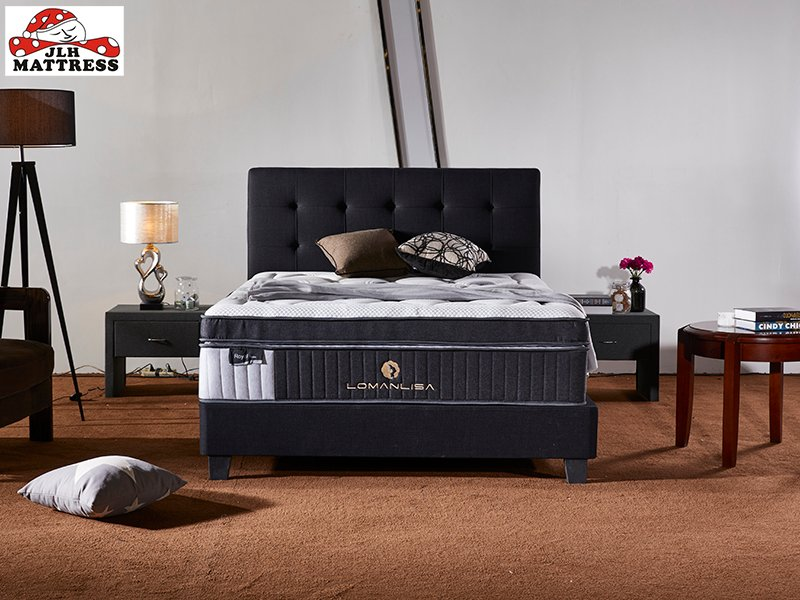 JLH 47AA-14 Chinese manufacturer Deluxe double Pocket spring Box top mattress Double Spring Mattresses image4