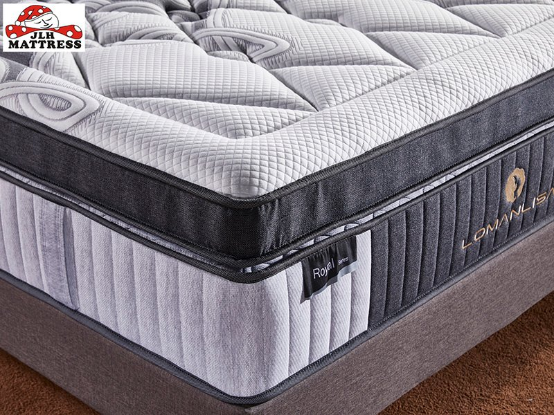 JLH-Find Twin Mattress 1000 Pocket Sprung Mattress Double From Jinlongheng Mattress-2