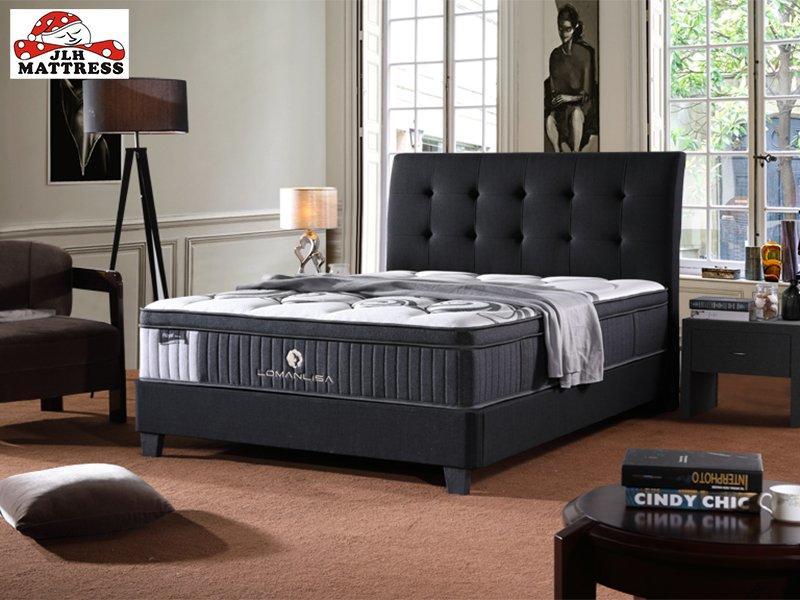 34PA-56 Hot Selling Cooling Royal Luxury Gel Memory Foam Queen Mattress