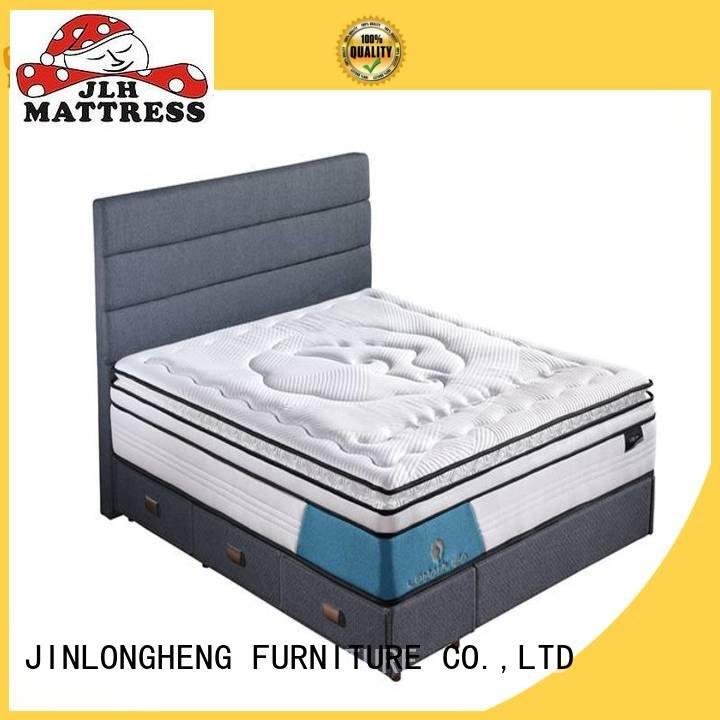 JLH Brand pocket design foam compress memory foam mattress natural