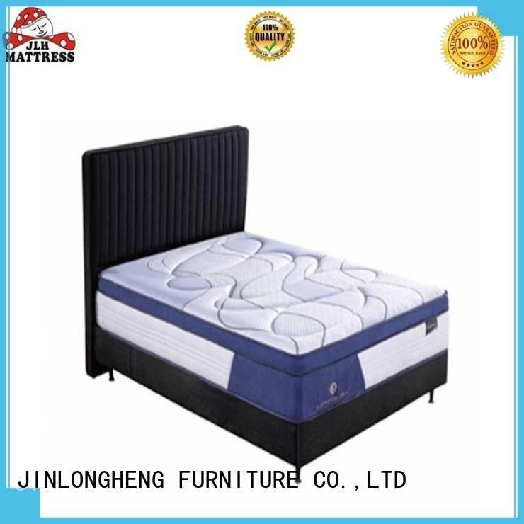 Custom latex gel memory foam mattress wool 34pd01 sleep JLH