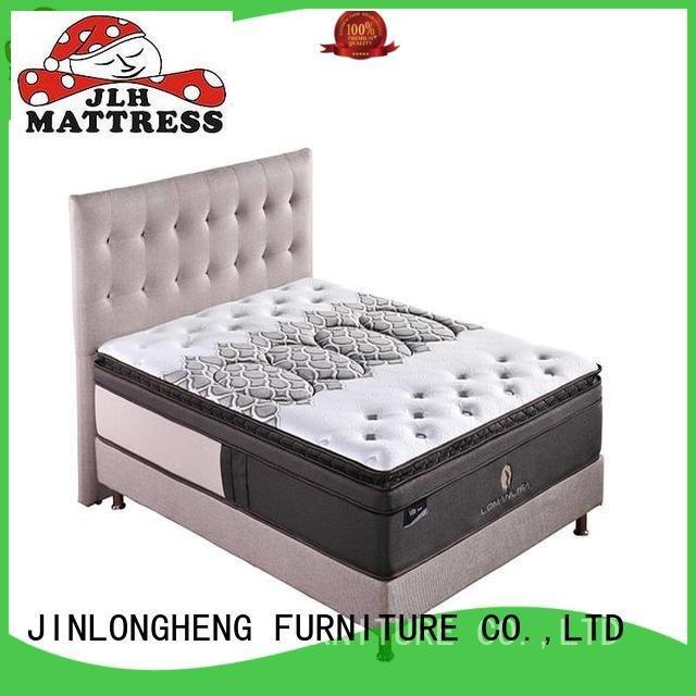 cool gel memory foam mattress topper quality 4bpa03 compress memory foam mattress JLH Brand