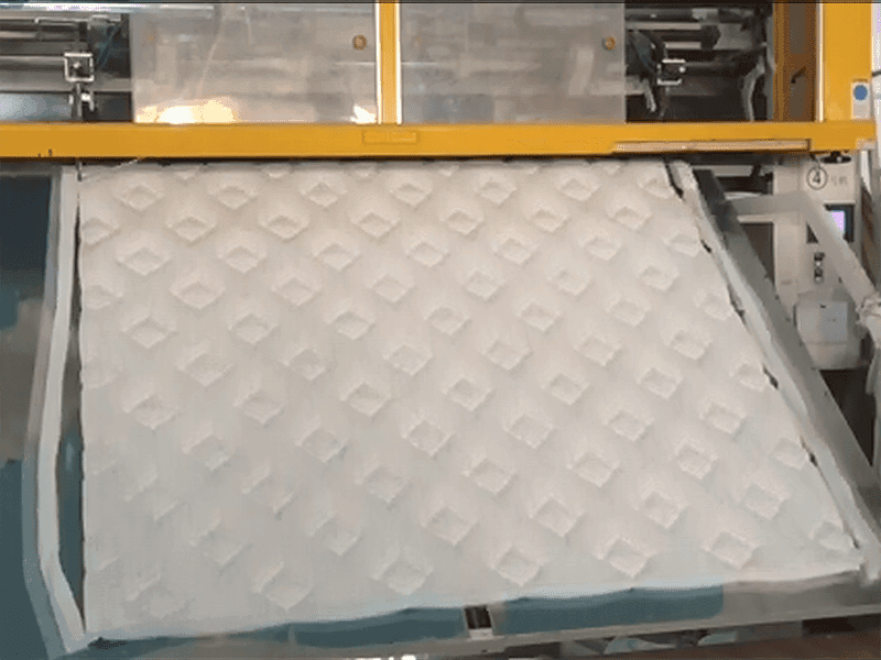 Cover Fabric Making