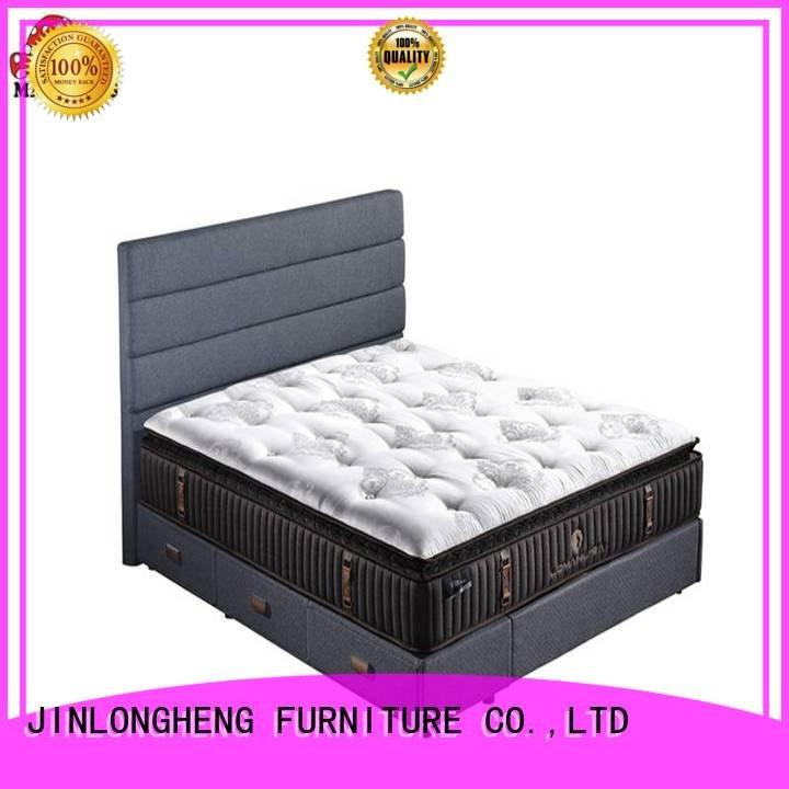 Hot king size latex mattress royal latex gel memory foam mattress coil JLH