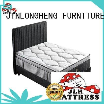JLH king size latex mattress hand furniture turfted