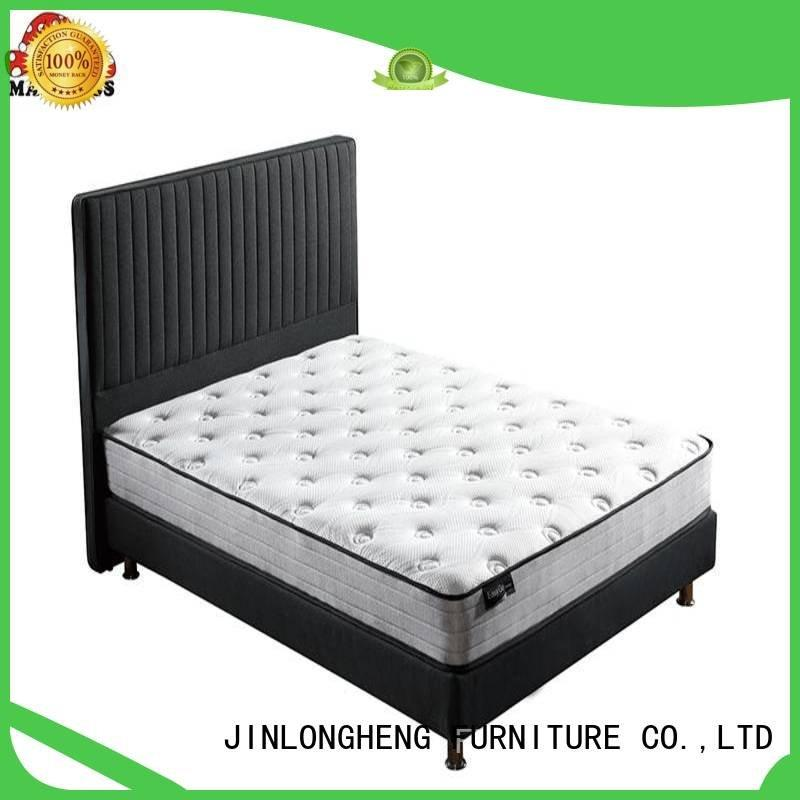 latex rolled pillow pocket JLH king mattress in a box