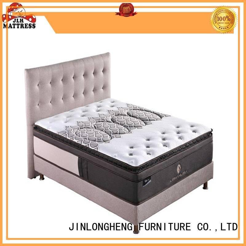 JLH Brand royal cool gel memory foam mattress topper 32pa33 quality
