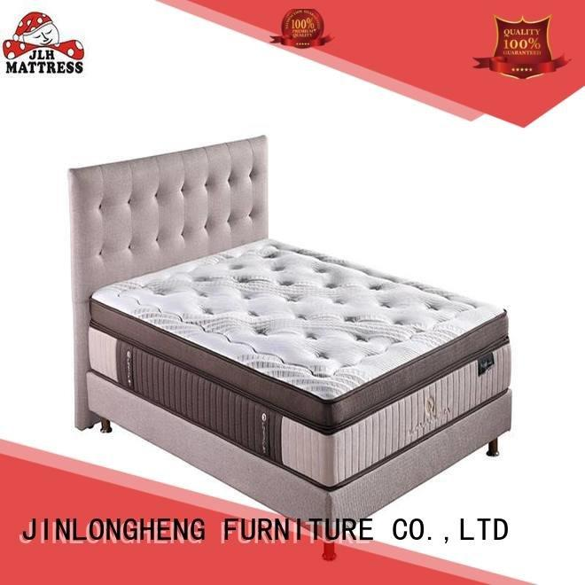 JLH Brand double 2000 pocket sprung mattress double spring chinese