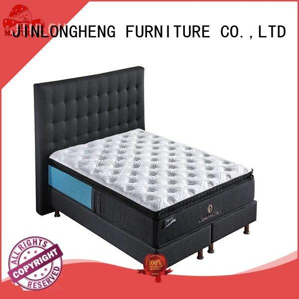 Custom compress memory foam mattress viisco top packed JLH