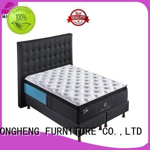 JLH spring compress memory foam mattress design wool