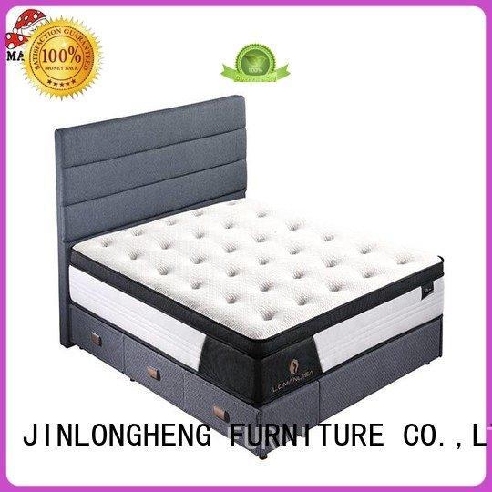 memory top design euro JLH latex gel memory foam mattress
