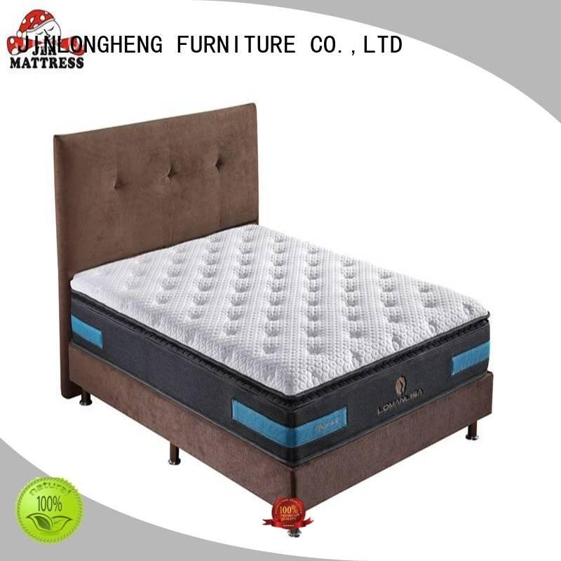 raw innerspring foam mattress JLH california king mattress