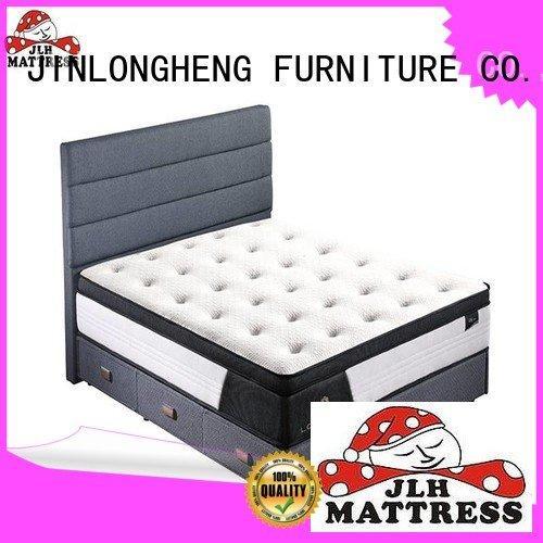 from latex gel memory foam mattress JLH king size latex mattress