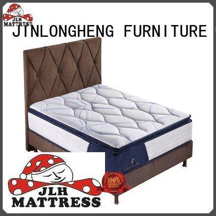 JLH porket comfortable hybrid mattress sponge soft