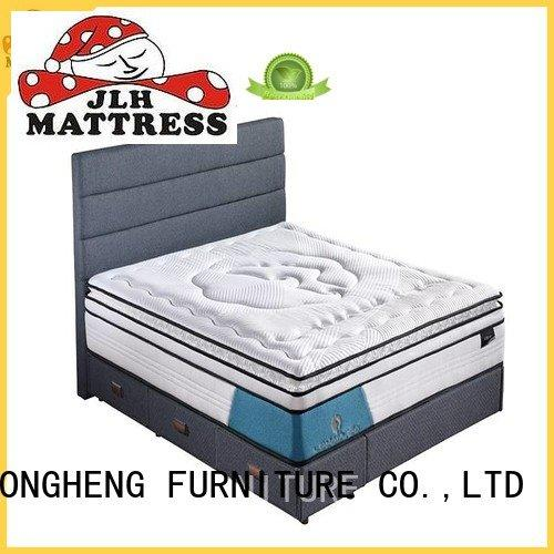 JLH professional compress memory foam mattress natural top