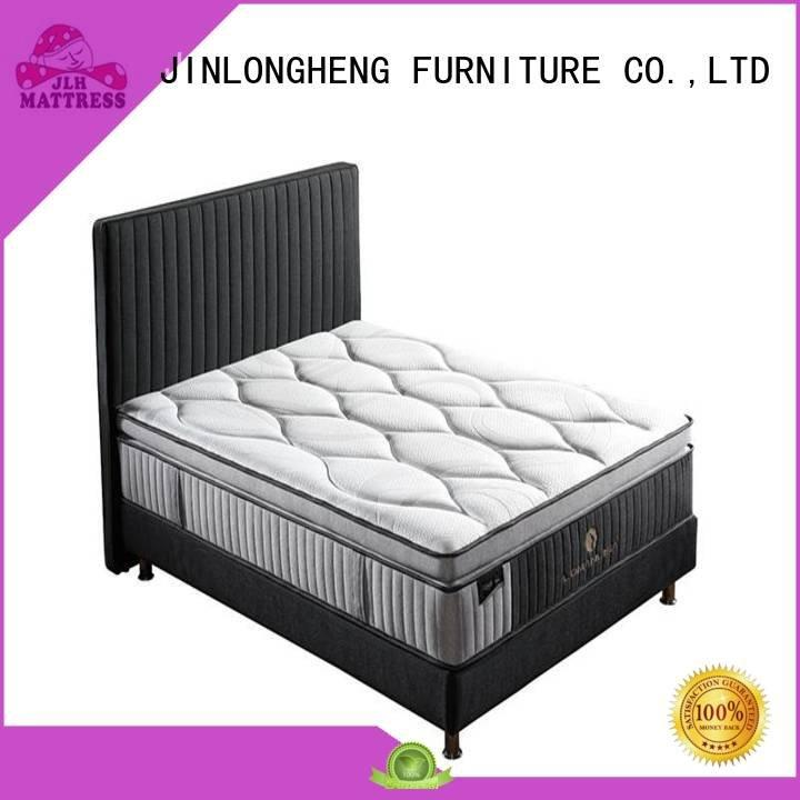 Hot king size latex mattress spring hand natural JLH Brand