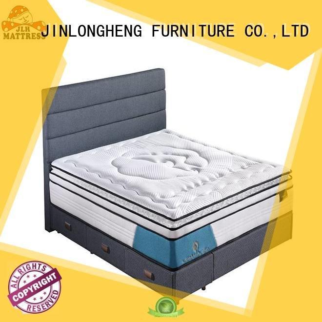 cool gel memory foam mattress topper gel design OEM compress memory foam mattress JLH