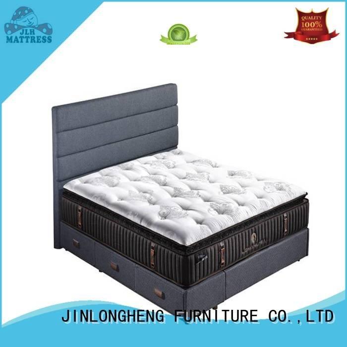 bread latex gel memory foam mattress JLH king size latex mattress