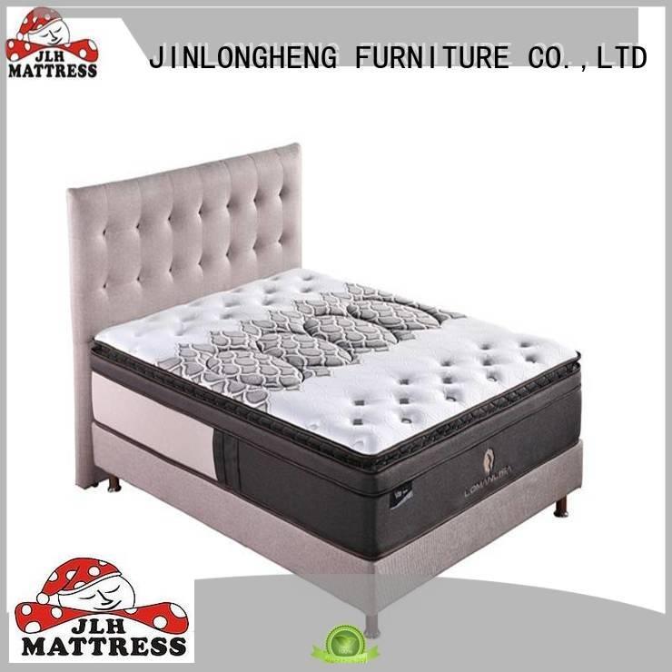 Custom compress memory foam mattress wool oem mattress JLH