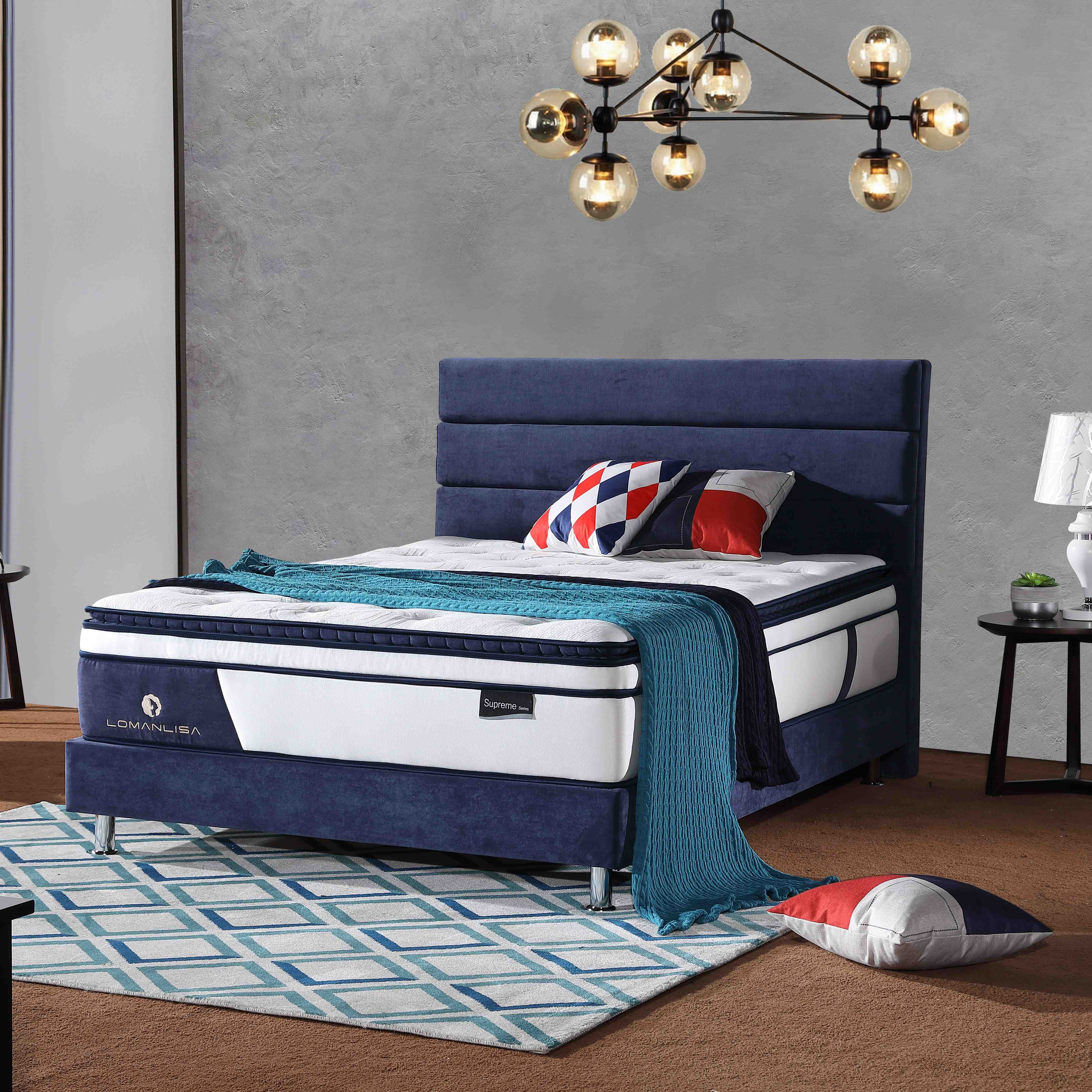 highest miralux mattress quiet by Chinese manufaturer for hotel-2