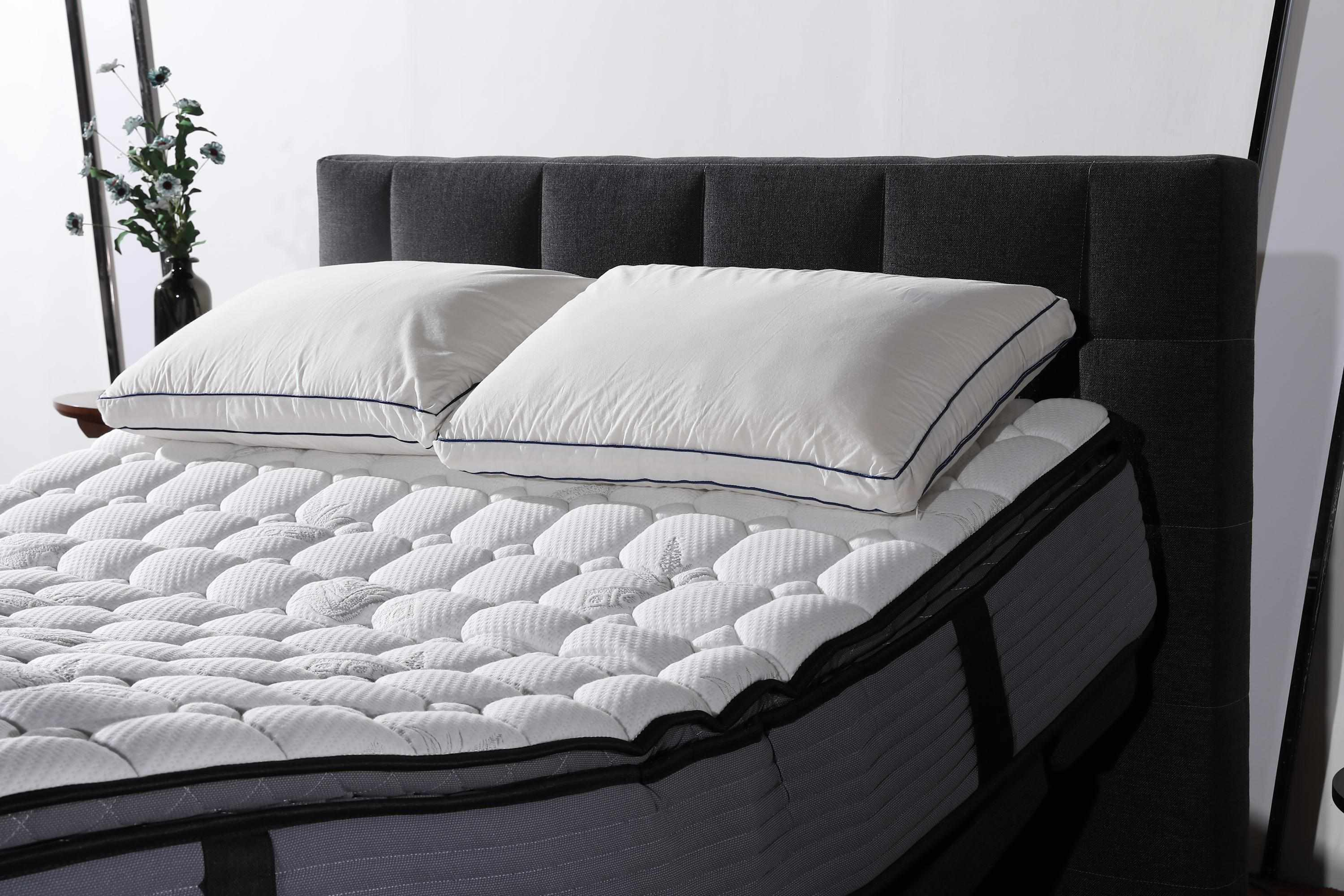 JLH Pillow Top Design Electric Adjustable Bed with Quiet and Stable Motor in King Queen Size Mattress In A Box image2