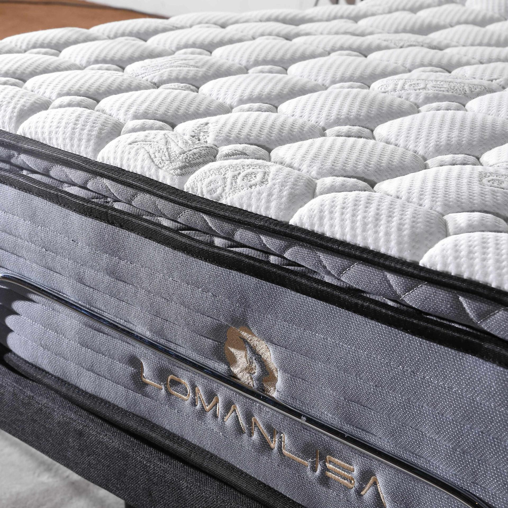 Adjustable Bed With Quiet And Stable Motor In King Queen Mattress