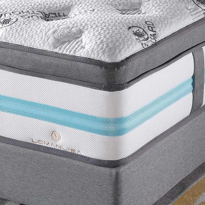Reasonable And Fashionable High-Density Soft Convoluted Foam 5 Zones Floor Mattress