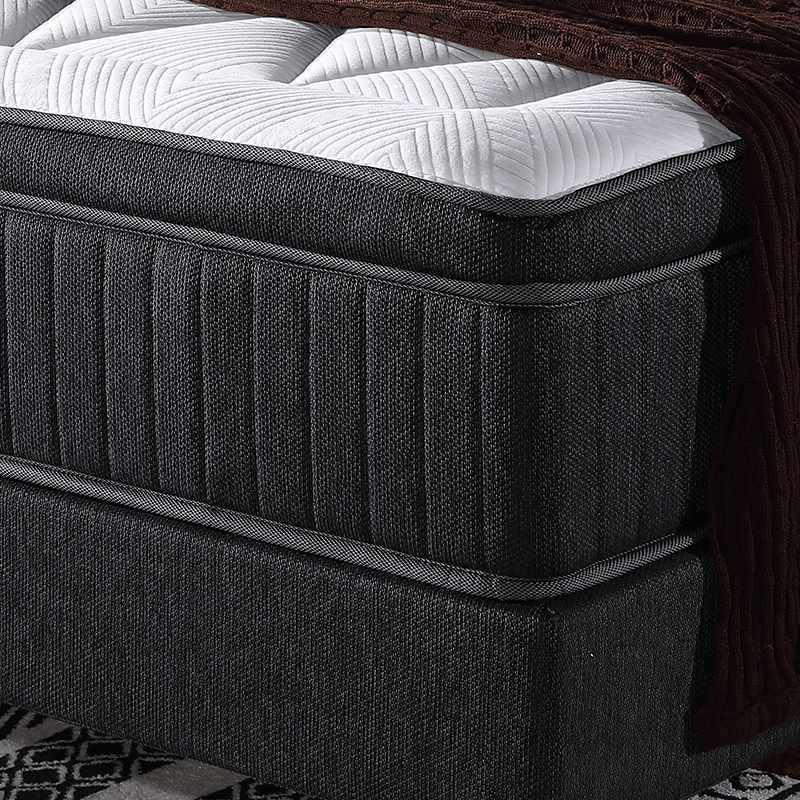Queen Size Gel Memory Foam Queen Mattress Topper With 5 Zoned Pocket Spring Wholesale
