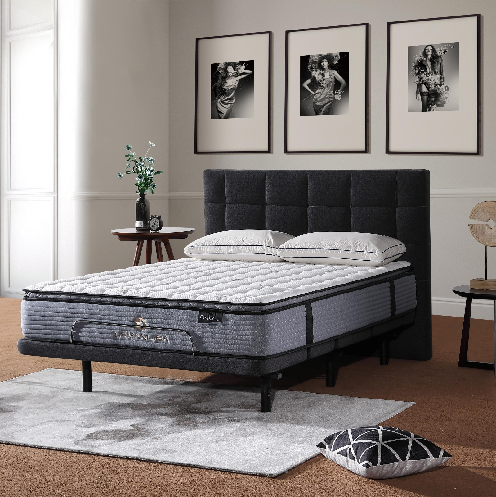 double queen mattress in a box dacron for home JLH-11