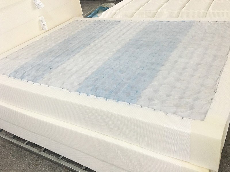 2018 Gel Memory Foam Double Layers Pocket Spring Mattress for Home-8