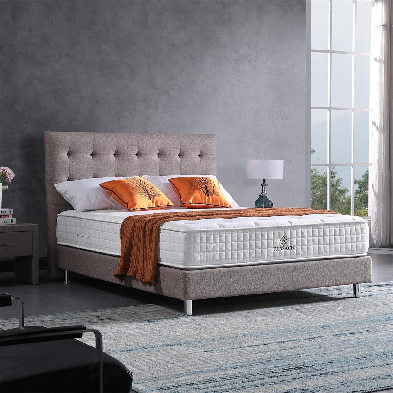 Fansace 21BA-01 Hotel-Grade Mattress With Bonnel Spring Structure Soft Hardness