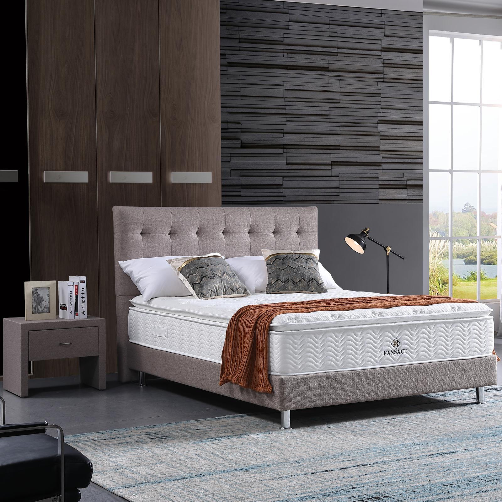inexpensive platform bed mattress memory price with softness-1